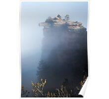 Foggy Grand Canyon national Park -  arizona Poster