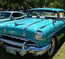 Pontiac 1956 by Barry  Cooke