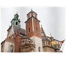 Wawel Castle Architecture Poster