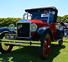 1926 Model T Ford by Barry  Cooke