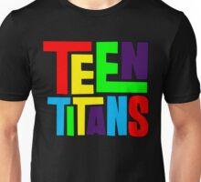 Teen Titans Multicolor Unisex T-Shirt