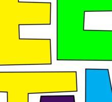 Teen Titans Multicolor Sticker