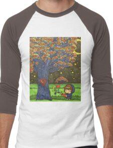 And I watered  Men's Baseball ¾ T-Shirt