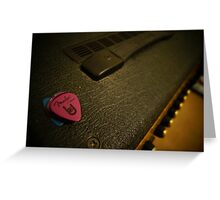 Amplifier Greeting Card