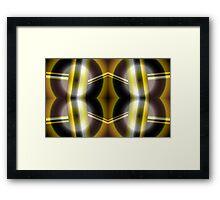 The Golden Knight Framed Print