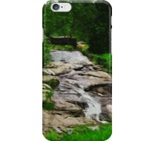 Lincoln Park Duluth Minnesota Abstract Impressionism iPhone Case/Skin