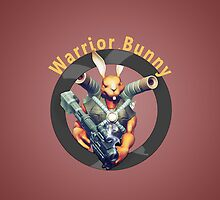 Warrior Bunny Nukem by crouchingpixel