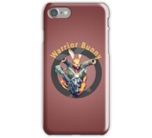 Warrior Bunny Nukem iPhone Case/Skin