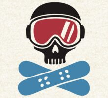Snowboard skull goggles by Anthor-Store