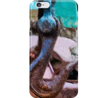 Large Hook Abstract Impressionism iPhone Case/Skin
