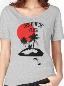 Vacation on an Japanese Island Women's Relaxed Fit T-Shirt