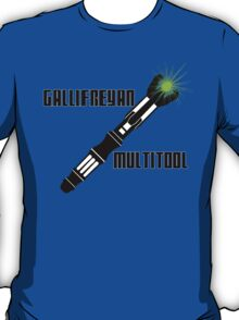 Dr Who - Gallifreyan MultiTool T-Shirt