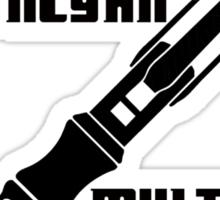 Dr Who - Gallifreyan MultiTool Sticker