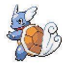 Pokemon - Wartortle Sprite  by ffiorentini