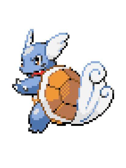 ffiorentini portfolio pokemon   wartortle sprite