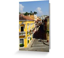 Old Town, Columbia Greeting Card