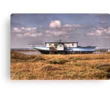 House Boat Canvas Print