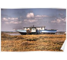House Boat Poster