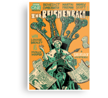 Vintage Poster - The Reichenbach Fall Metal Print