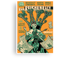 Vintage Poster - The Reichenbach Fall Canvas Print