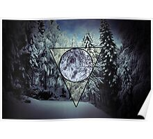 Winter triangle Poster