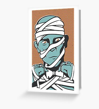 Mummy Greeting Card