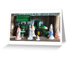 Kids Nativity Scene Greeting Card