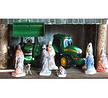 Kids Nativity Scene Photographic Print