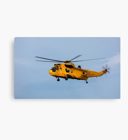 RAF Search and Rescue Helicopter Canvas Print