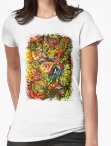The Traveler Womens Fitted T-Shirt