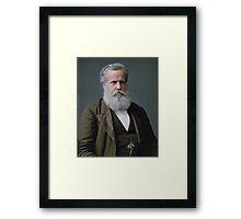 Emperor Pedro II of Brazil, 1876 Framed Print