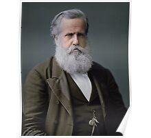 Emperor Pedro II of Brazil, 1876 Poster