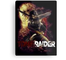 Tomb Raider Metal Print