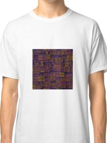 Sunset Glass Squares Classic T-Shirt
