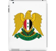 Coat of Arms of Syria  iPad Case/Skin