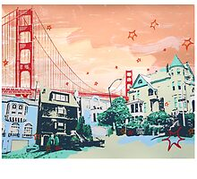 Hilary Williams' Golden Gate by Hilary Williams