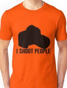 I shoot people photographer Unisex T-Shirt