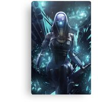 Mass Effect - Tali Zorah Vas Normandy Canvas Print