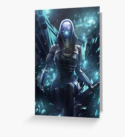 Mass Effect - Tali Zorah Vas Normandy Greeting Card