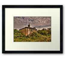 A Place That Once was Called Home Framed Print
