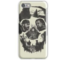 hugh glass and jhon fiztgerald the revenant movie iPhone Case/Skin