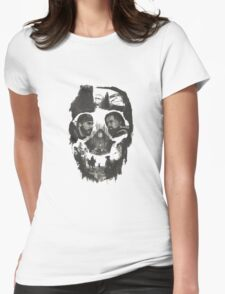 hugh glass and jhon fiztgerald the revenant movie Womens Fitted T-Shirt