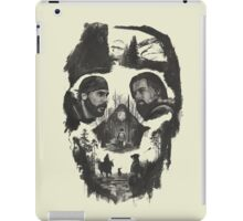 hugh glass and jhon fiztgerald the revenant movie iPad Case/Skin