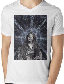 In Her Presence Mens V-Neck T-Shirt