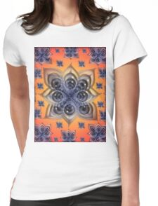 Entheogenic Eyes Womens Fitted T-Shirt