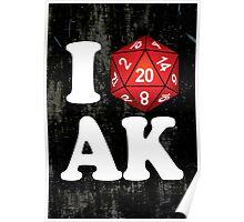 I D20 Alaska Poster