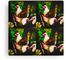Brown poultry Canvas Print