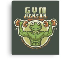Gym Henson Canvas Print