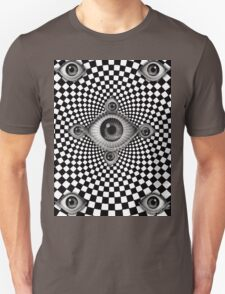 Moiré Eyes Unisex T-Shirt