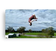 Flipping out Canvas Print